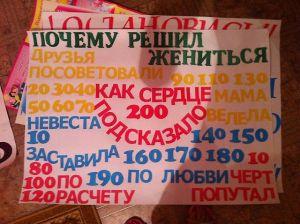 Выкуп плакаты своими руками фото