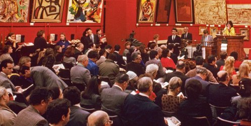 At an auction in China have not bought any of the 60 paintings by Russian artists