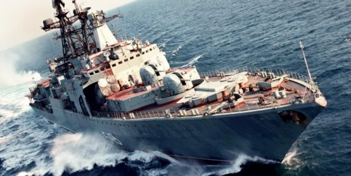 Detachments Pacific Fleet met in the South China Sea