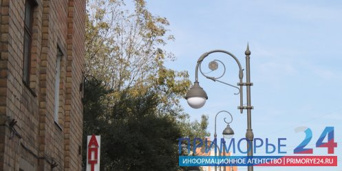 For 5 years, the number of street lights in Vladivostok increased 10 times