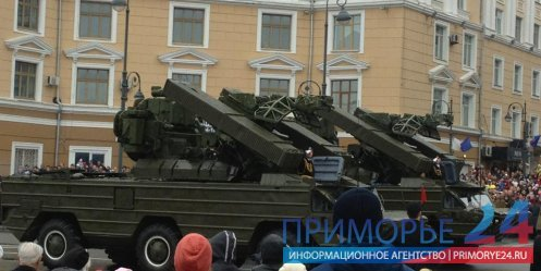 "Igor Pushkarev - ""For Victory Parade rehearsal selected weekends and holidays, not to create unnecessary problems in the city for vehicles\"""