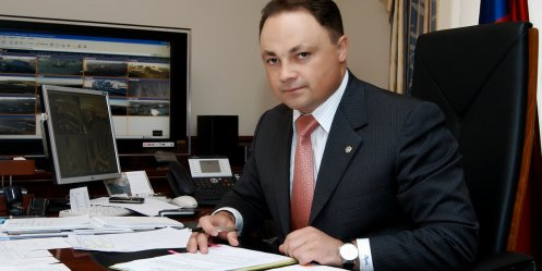 "Igor Pushkarev was the first candidate for the nomination for mayor of the ""United Russia\"""
