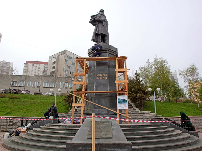 "Igor Pushkarev, ""We restore and maintain dozens of sites in Vladivostok\"""