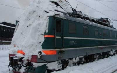 In Khabarovsk Krai train was hit by an avalanche
