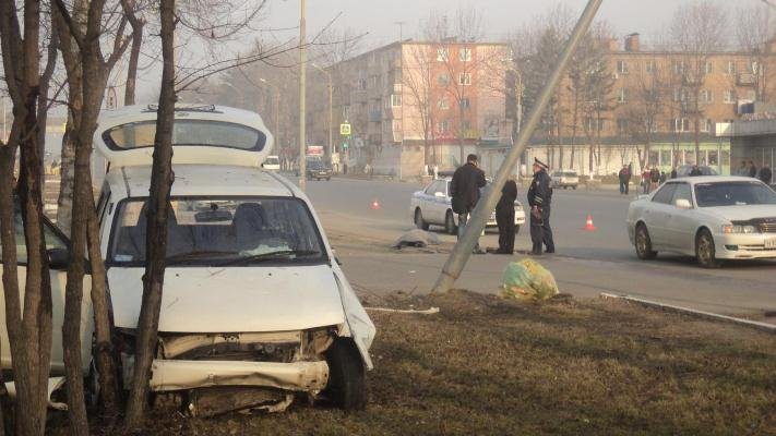 In Primorye, the driver fell asleep at the wheel and knocked the elderly woman to death