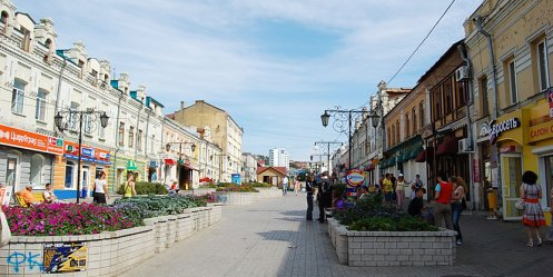 In Vladivostok, cloudy but no rain