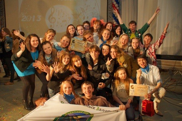 "In Vladivostok, summed up the student festival ""Old Record 2013\"""