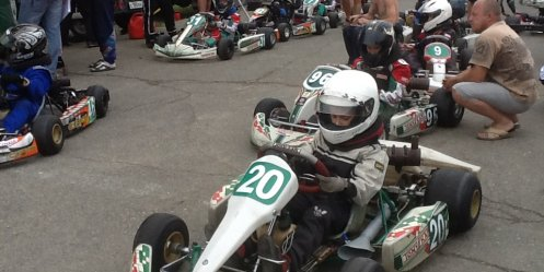 "On Sunday kartodrome ""Zmeinka\"" will open the 2013 racing season"