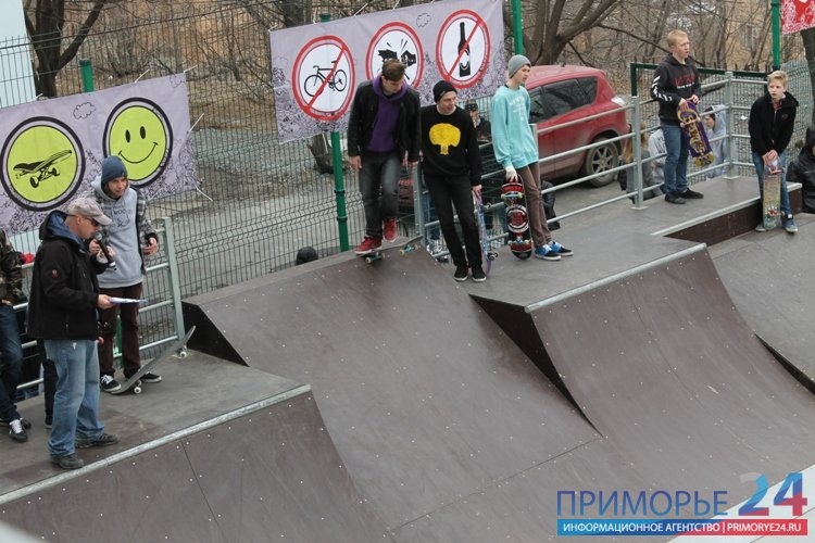 "Rain almost ripped extremals Vladivostok ""Season Opening 2013\"""