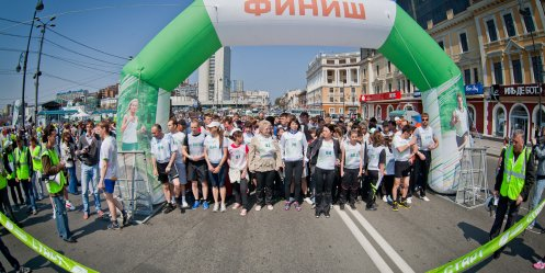 "Savings Bank invites you to the ""Green Marathon\"" in Vladivostok on May 18"