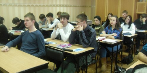 Sberbank holds the Days of financial literacy to high school students in Vladivostok