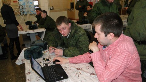 Sberbank SHC @ dh came to the Armed Forces
