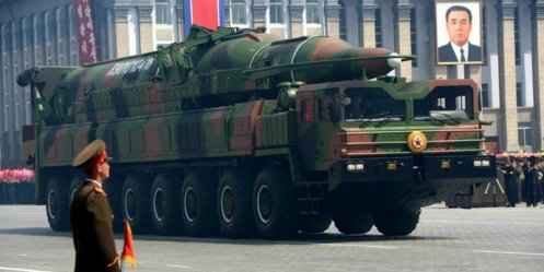 South Korea braced for a missile attack from North