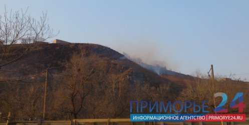 Spring burns are not safe for the residents of Vladivostok - Emergency