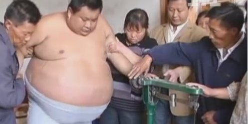 "The Chinese believe that the nation is ""fat, getting old and losing health\"""