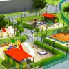 Kindergarten and school in Vladivostok will be landscaped in the near future (draft)