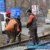On restoring the tram route in Vladivostok of workers and heavy machinery