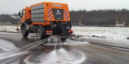 Timely processing of roads Vladivostok reagents possible to avoid icy