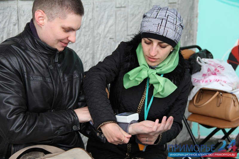 "Vladivostok residents took to the ""Walk with the doctor,\"""