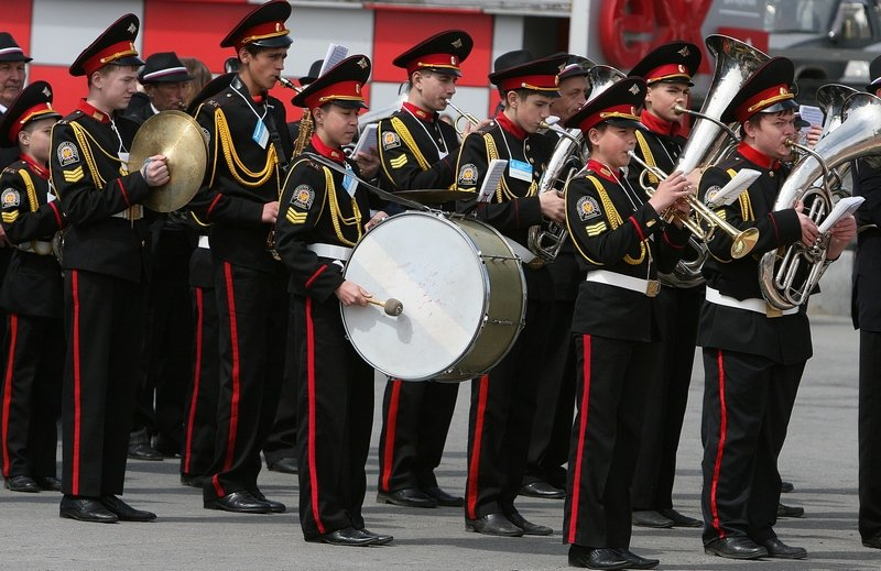 Brass Band Festival opened in Vladivostok Pacific Fleet sailors