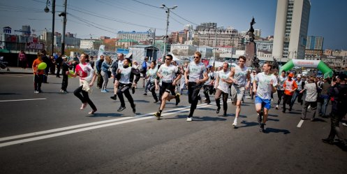 "Center of Vladivostok will block for the duration of the ""Green Marathon\"""