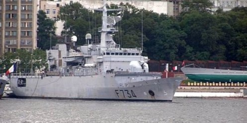 French frigate goes to Vladivostok to celebrate Victory Day