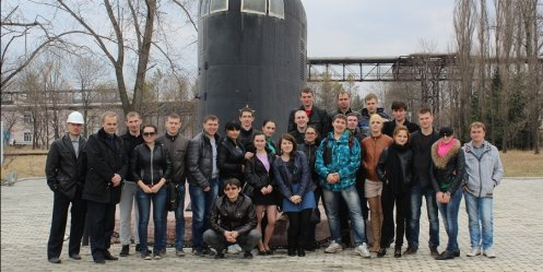 "Future shipbuilders have visited the factory ""Star\"""