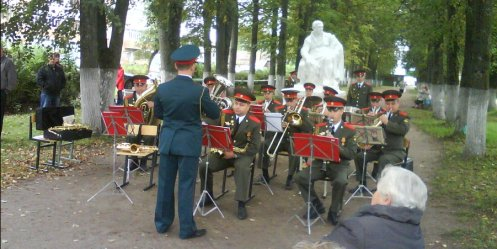 In the squares of Vladivostok will play brass bands