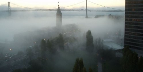 On Friday, Vladivostok will be covered by fog