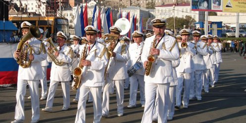 This weekend brass band music will fill the center of Vladivostok