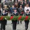 Sailors France and the United States laid a wreath at the Eternal Flame in Vladivostok