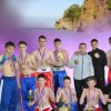 Victory Day seaside kick boxers meet in the ring