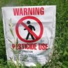 The farmer works the soil in Primorye banned pesticides