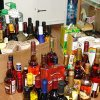 More than 450 liters of alcohol products sold illegally seized Vladivostok