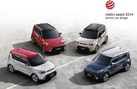 Kia Soul награжден Red Dot Design Award