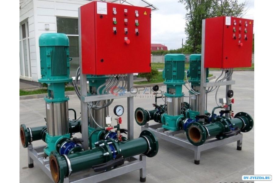 Теплоэнергетическое оборудование от производителя - насосные станции и насосы