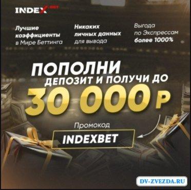 Обзор сайта БК IndexBet (ИндексБет)