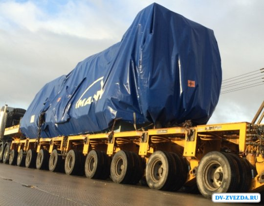 Перевозка тяжеловесных и негабаритных грузов по России и СНГ